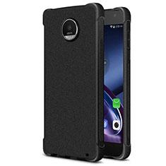 Silikon Hülle Handyhülle Gummi Schutzhülle TPU für Motorola Moto Z2 Play Schwarz