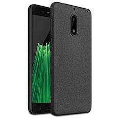 Silikon Hülle Handyhülle Gummi Schutzhülle TPU für Nokia 6 Schwarz