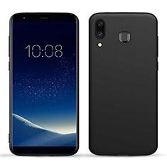 Silikon Hülle Handyhülle Gummi Schutzhülle TPU für Samsung Galaxy A8 Star Schwarz