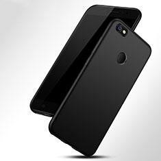 Silikon Hülle Handyhülle Gummi Schutzhülle TPU für Xiaomi Redmi Y1 Schwarz