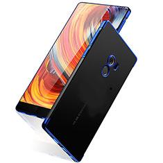 Silikon Hülle Handyhülle Rahmen Schutzhülle Durchsichtig Transparent Matt für Xiaomi Mi Mix Blau