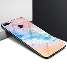 Silikon Hülle Handyhülle Rahmen Schutzhülle Spiegel Modisch Muster für Huawei Honor 9 Lite Plusfarbig