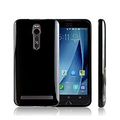 Silikon Hülle Handyhülle S-Line Schutzhülle Durchsichtig Transparent für Asus Zenfone 2 ZE551ML ZE550ML Schwarz