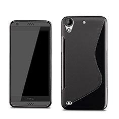 Silikon Hülle Handyhülle S-Line Schutzhülle für HTC Desire 530 Schwarz