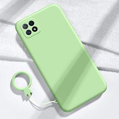 Silikon Hülle Handyhülle Ultra Dünn Flexible Schutzhülle 360 Grad Ganzkörper Tasche für Huawei Enjoy 20 5G Grün