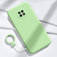 Silikon Hülle Handyhülle Ultra Dünn Flexible Schutzhülle 360 Grad Ganzkörper Tasche für Huawei Enjoy 20 Plus 5G Grün