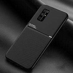 Silikon Hülle Handyhülle Ultra Dünn Flexible Schutzhülle 360 Grad Ganzkörper Tasche für Huawei Honor 30S Schwarz
