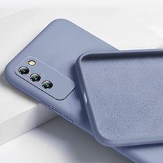Silikon Hülle Handyhülle Ultra Dünn Flexible Schutzhülle 360 Grad Ganzkörper Tasche für Huawei Honor X10 5G Grau