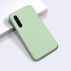 Silikon Hülle Handyhülle Ultra Dünn Flexible Schutzhülle 360 Grad Ganzkörper Tasche für OnePlus Nord Minzgrün