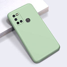 Silikon Hülle Handyhülle Ultra Dünn Flexible Schutzhülle 360 Grad Ganzkörper Tasche für Realme 7i Grün
