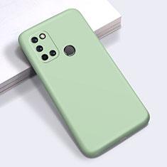 Silikon Hülle Handyhülle Ultra Dünn Flexible Schutzhülle 360 Grad Ganzkörper Tasche für Realme C17 Grün