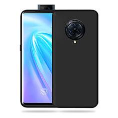 Silikon Hülle Handyhülle Ultra Dünn Flexible Schutzhülle 360 Grad Ganzkörper Tasche für Vivo Nex 3 Schwarz