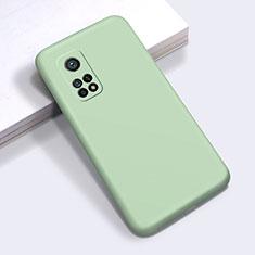 Silikon Hülle Handyhülle Ultra Dünn Flexible Schutzhülle 360 Grad Ganzkörper Tasche für Xiaomi Mi 10T Pro 5G Minzgrün