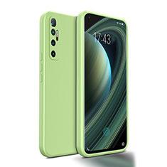 Silikon Hülle Handyhülle Ultra Dünn Flexible Schutzhülle 360 Grad Ganzkörper Tasche S01 für Xiaomi Mi 10 Ultra Minzgrün