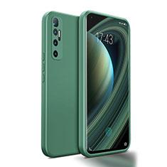 Silikon Hülle Handyhülle Ultra Dünn Flexible Schutzhülle 360 Grad Ganzkörper Tasche S01 für Xiaomi Mi 10 Ultra Nachtgrün