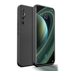 Silikon Hülle Handyhülle Ultra Dünn Flexible Schutzhülle 360 Grad Ganzkörper Tasche S01 für Xiaomi Mi 10 Ultra Schwarz