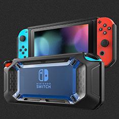 Silikon Hülle Handyhülle Ultra Dünn Flexible Schutzhülle Tasche S01 für Nintendo Switch Blau