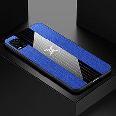 Silikon Hülle Handyhülle Ultra Dünn Flexible Schutzhülle Tasche S01 für Xiaomi Mi 10 Lite Blau