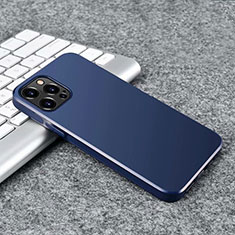 Silikon Hülle Handyhülle Ultra Dünn Flexible Schutzhülle Tasche S02 für Apple iPhone 12 Pro Blau