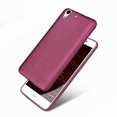 Silikon Hülle Handyhülle Ultra Dünn Schutzhülle 360 Grad für Huawei Honor Holly 3 Violett