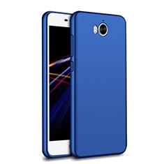 Silikon Hülle Handyhülle Ultra Dünn Schutzhülle 360 Grad für Huawei Y6 (2017) Blau