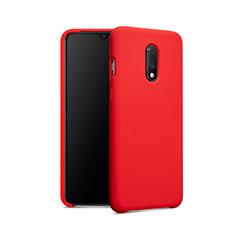Silikon Hülle Handyhülle Ultra Dünn Schutzhülle 360 Grad für OnePlus 7 Rot