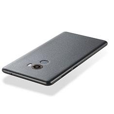 Silikon Hülle Handyhülle Ultra Dünn Schutzhülle 360 Grad für Xiaomi Mi Mix Evo Grau