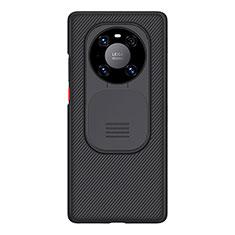 Silikon Hülle Handyhülle Ultra Dünn Schutzhülle 360 Grad Ganzkörper D01 für Huawei Mate 40 Pro Schwarz