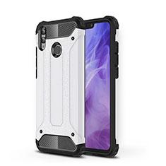 Silikon Hülle Handyhülle Ultra Dünn Schutzhülle 360 Grad Tasche C01 für Huawei Honor View 10 Lite Weiß