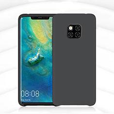 Silikon Hülle Handyhülle Ultra Dünn Schutzhülle 360 Grad Tasche C02 für Huawei Mate 20 Pro Schwarz