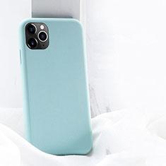 Silikon Hülle Handyhülle Ultra Dünn Schutzhülle 360 Grad Tasche C03 für Apple iPhone 11 Pro Max Cyan