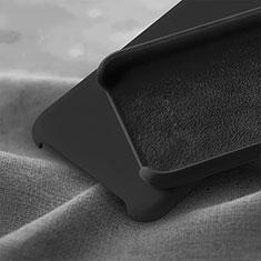 Silikon Hülle Handyhülle Ultra Dünn Schutzhülle 360 Grad Tasche C03 für Huawei Honor 20 Lite Schwarz