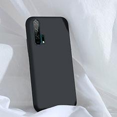 Silikon Hülle Handyhülle Ultra Dünn Schutzhülle 360 Grad Tasche C03 für Huawei Honor 20 Pro Schwarz