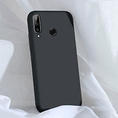 Silikon Hülle Handyhülle Ultra Dünn Schutzhülle 360 Grad Tasche C03 für Huawei Nova 4e Schwarz