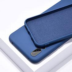 Silikon Hülle Handyhülle Ultra Dünn Schutzhülle 360 Grad Tasche C03 für Huawei P20 Pro Blau