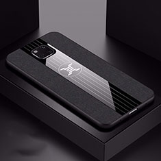 Silikon Hülle Handyhülle Ultra Dünn Schutzhülle 360 Grad Tasche C05 für Huawei Mate 20 Pro Schwarz