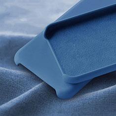 Silikon Hülle Handyhülle Ultra Dünn Schutzhülle 360 Grad Tasche C05 für Huawei P30 Blau