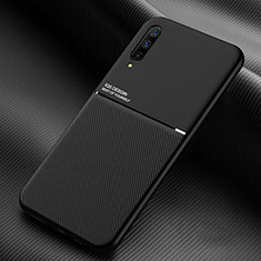 Silikon Hülle Handyhülle Ultra Dünn Schutzhülle 360 Grad Tasche C05 für Samsung Galaxy A70S Schwarz