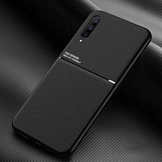 Silikon Hülle Handyhülle Ultra Dünn Schutzhülle 360 Grad Tasche C05 für Samsung Galaxy A90 5G Schwarz