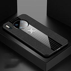 Silikon Hülle Handyhülle Ultra Dünn Schutzhülle 360 Grad Tasche C06 für Huawei Mate 30 5G Schwarz
