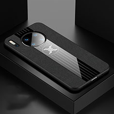 Silikon Hülle Handyhülle Ultra Dünn Schutzhülle 360 Grad Tasche C06 für Huawei Mate 30 Pro Schwarz
