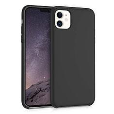 Silikon Hülle Handyhülle Ultra Dünn Schutzhülle 360 Grad Tasche für Apple iPhone 11 Schwarz