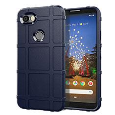 Silikon Hülle Handyhülle Ultra Dünn Schutzhülle 360 Grad Tasche für Google Pixel 3a Blau