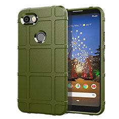 Silikon Hülle Handyhülle Ultra Dünn Schutzhülle 360 Grad Tasche für Google Pixel 3a XL Grün