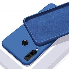 Silikon Hülle Handyhülle Ultra Dünn Schutzhülle 360 Grad Tasche für Huawei Enjoy 9s Blau