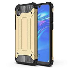 Silikon Hülle Handyhülle Ultra Dünn Schutzhülle 360 Grad Tasche für Huawei Honor Play 8 Gold