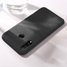 Silikon Hülle Handyhülle Ultra Dünn Schutzhülle 360 Grad Tasche für Huawei Nova 4e Schwarz
