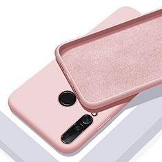 Silikon Hülle Handyhülle Ultra Dünn Schutzhülle 360 Grad Tasche für Huawei Nova 5i Rosegold