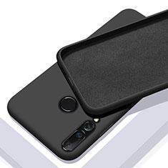 Silikon Hülle Handyhülle Ultra Dünn Schutzhülle 360 Grad Tasche für Huawei Nova 5i Schwarz
