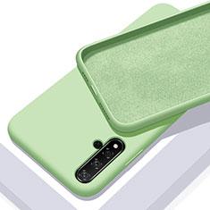 Silikon Hülle Handyhülle Ultra Dünn Schutzhülle 360 Grad Tasche für Huawei Nova 5T Grün